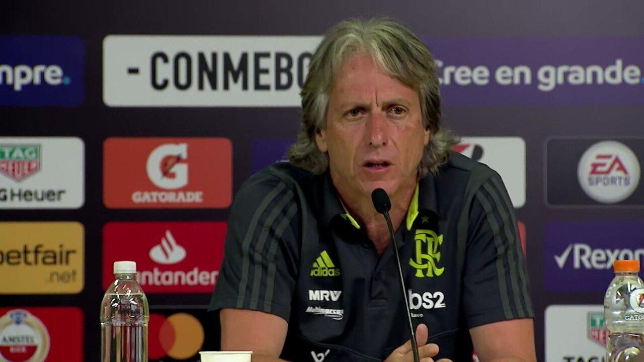 """Jorge Jesus diz que o Flamengo é o maior clube do mundo: """"Não tenho dúvidas disso"""""""