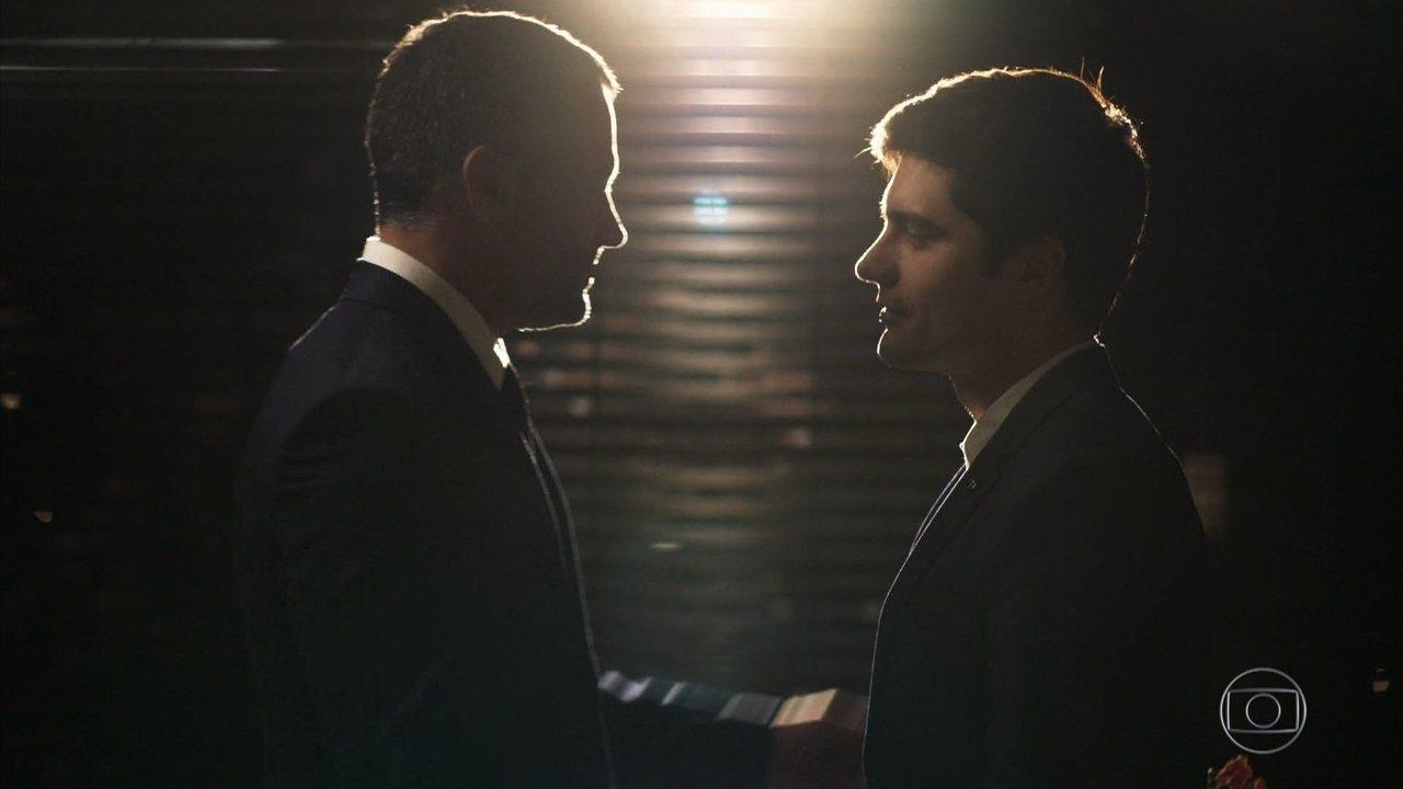 Agno e Leandro se casam