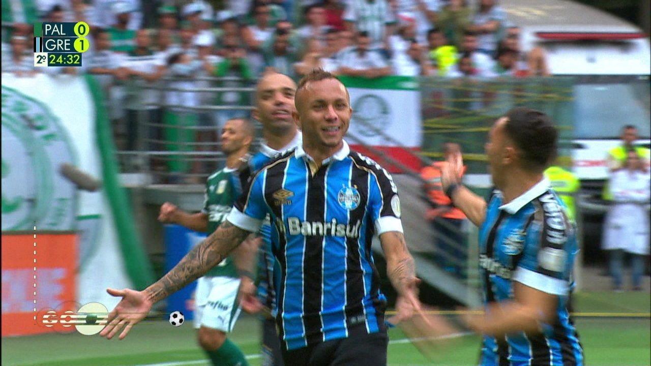 Melhores momentos: Palmeiras 1 x 2 Grêmio pela 34ª rodada do Campeonato Brasileiro