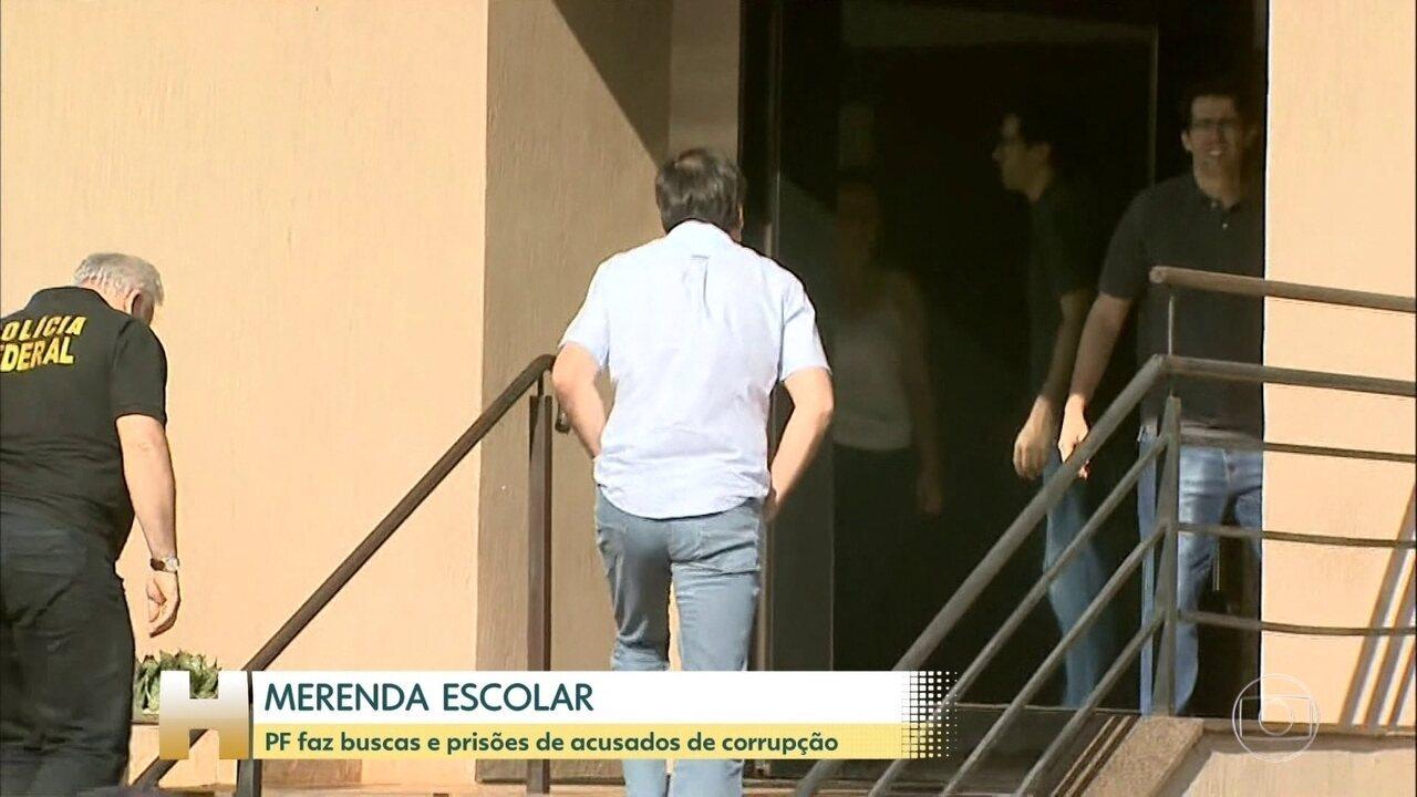 Polícia Federal faz operação contra fraudes na merenda escolar, em São Paulo