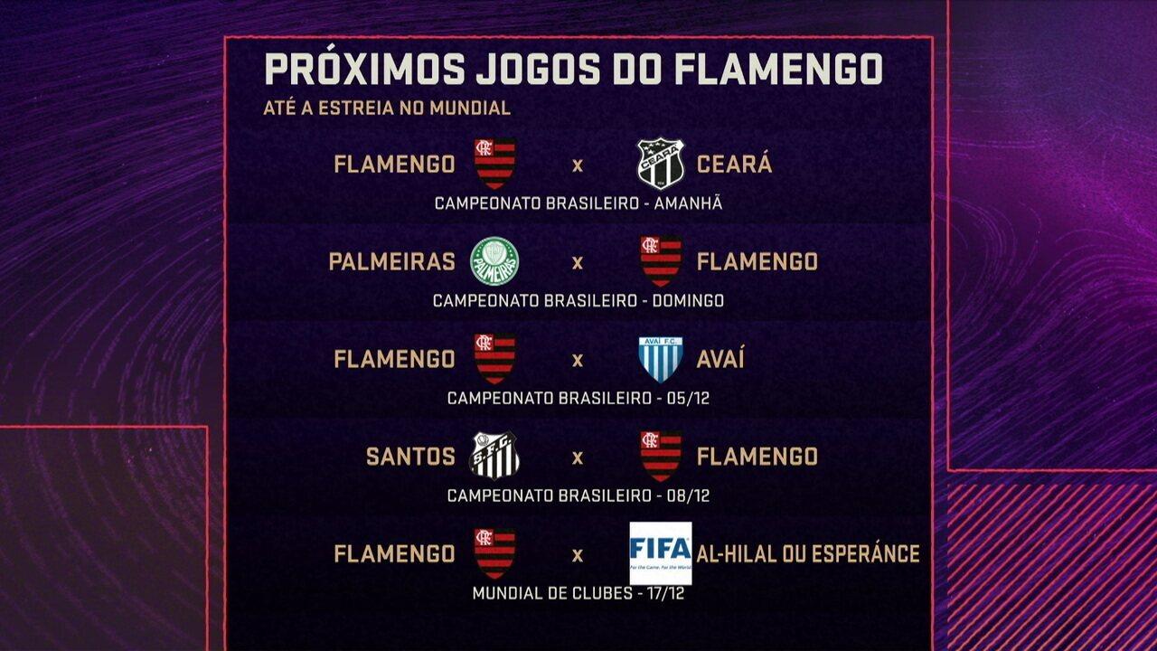 Comentaristas analisam as agendas de Flamengo e Liverpool até uma possível final do Mundial