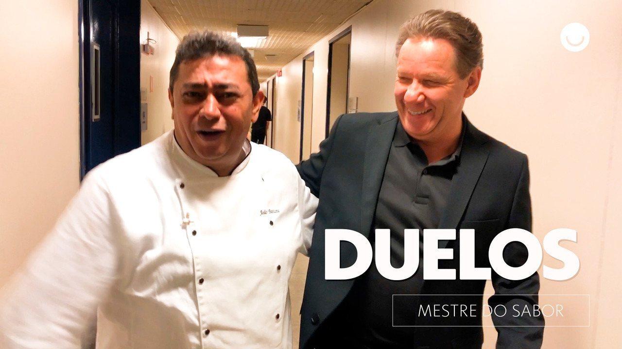 Claude e Batista brincam sobre a próxima fase do programa: Duelos