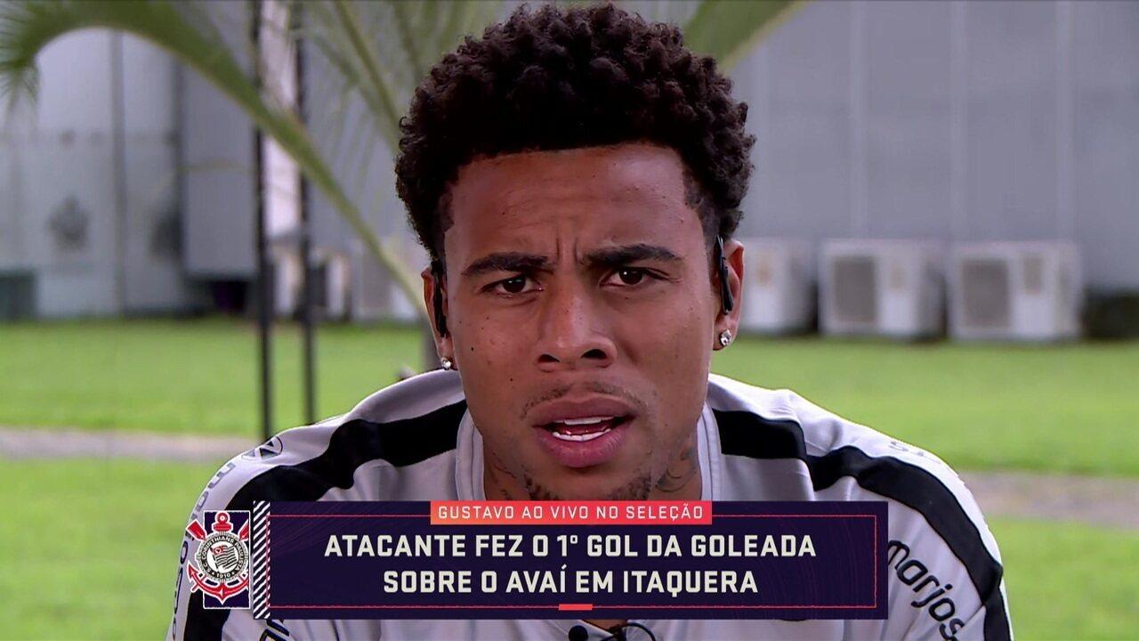 Gustavo fala ao vivo no Seleção sobre o momento do Corinthians na reta final do Brasileirão