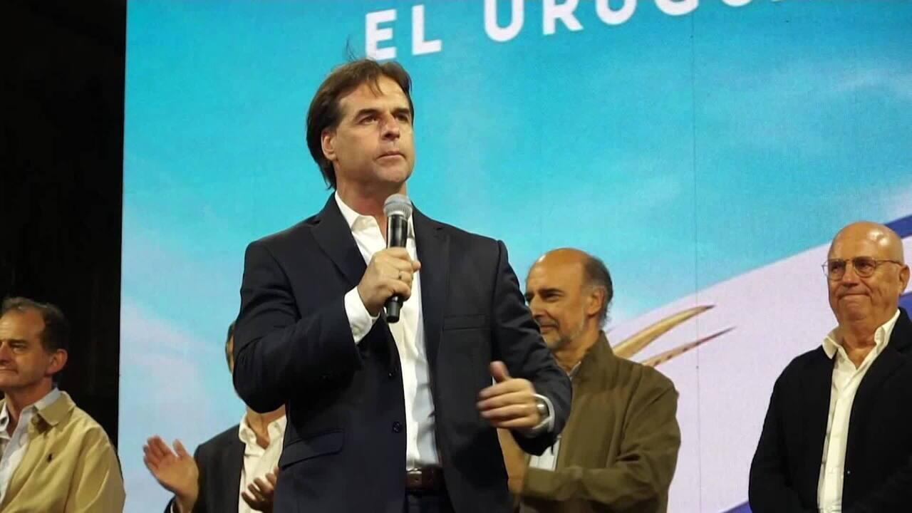 Dados da Corte Eleitoral confirmam Lacalle Pou como novo presidente do Uruguai
