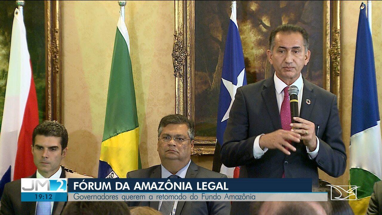 Governadores da Amazônia Legal anunciam ida à Conferência do Clima, na Espanha