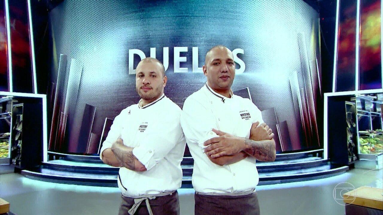 Djalma Victor e Fernando Vaz são sorteados para disputar duelo