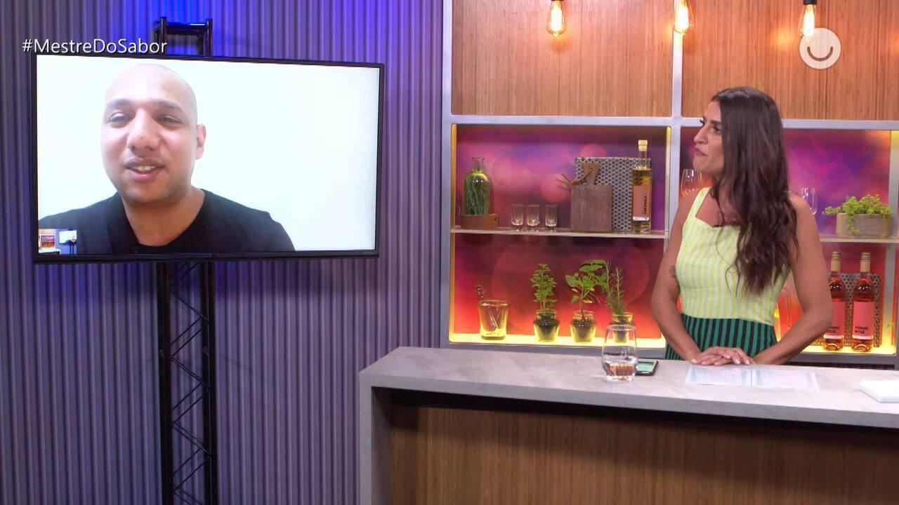 'Fora da Cozinha': Fernando Vaz fala sobre Duelo com Djalma Victor