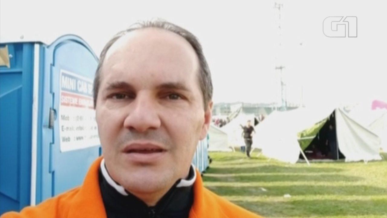 Missionário brasileiro relata drama após terremoto na Albânia