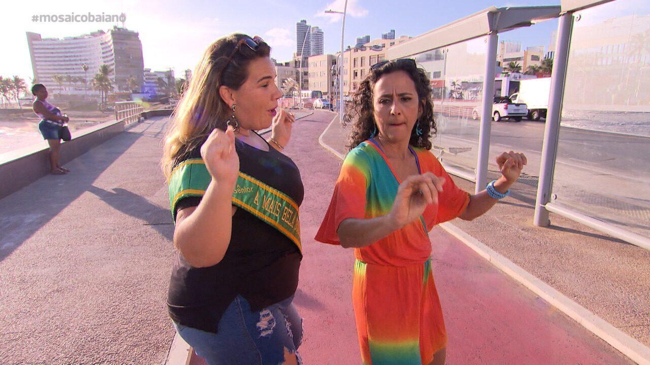 Maria Menezes bate-papo com Paula Mendes, dançarina, sobre a estação mais esperada do ano
