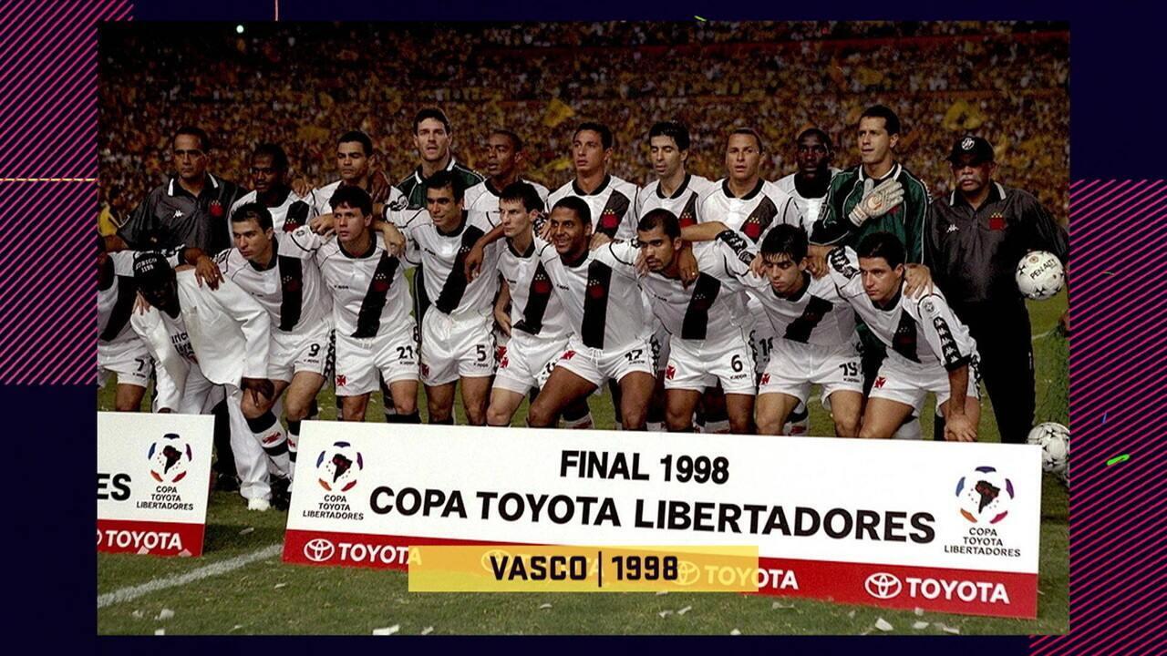 """Pedrinho compara o Vasco da Libertadores de 1998 com o Flamengo de 2019: """"Pra mim é Vasco"""""""