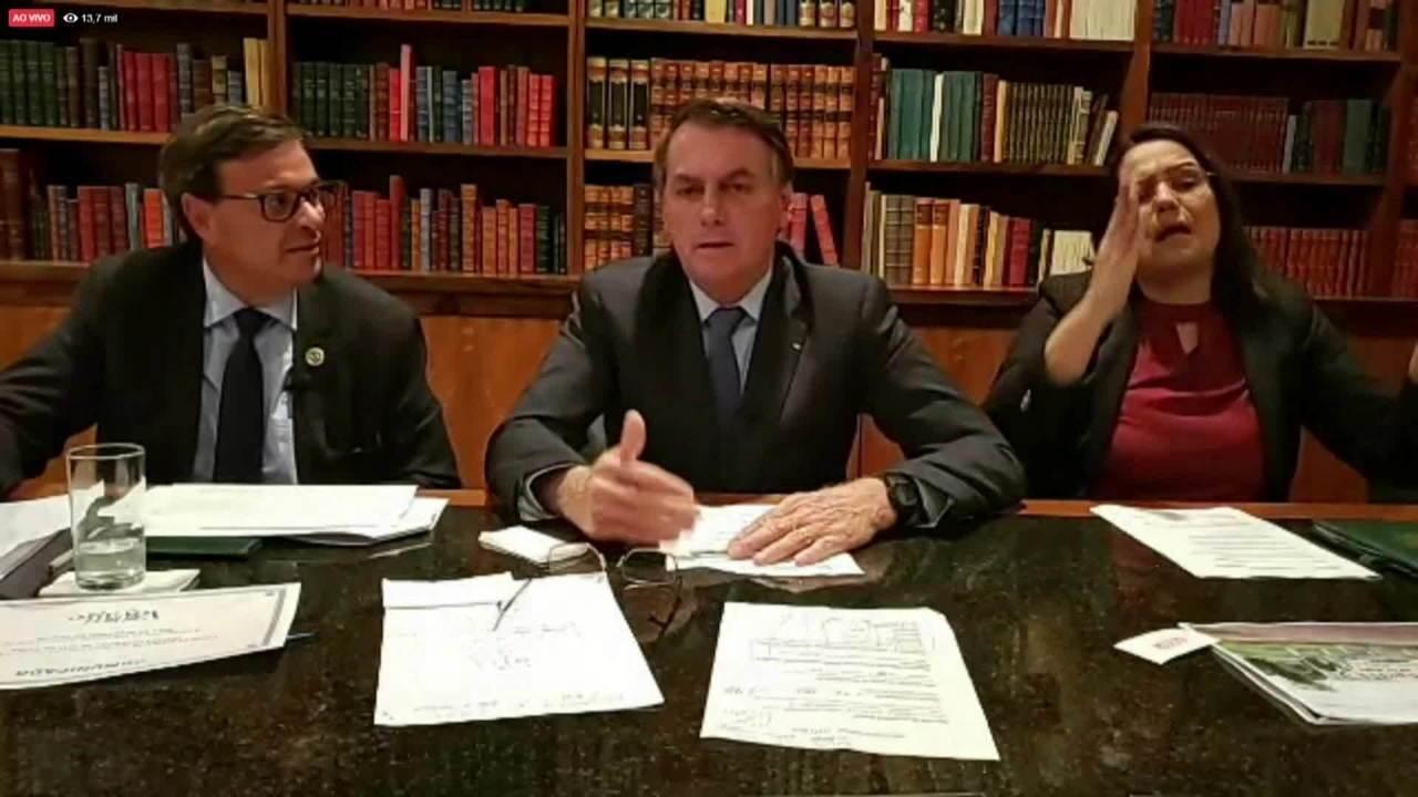 DiCaprio responde à acusação de Jair Bolsonaro