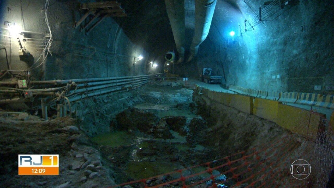 Justiça permite a retomada das obras da Linha 4 do metrô e conclusão da estação Gávea