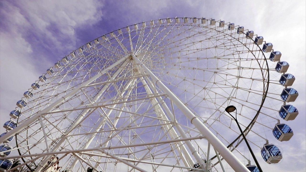 Novidade no Rio de Janeiro: conheça em primeira mão a maior roda gigante da América Latina