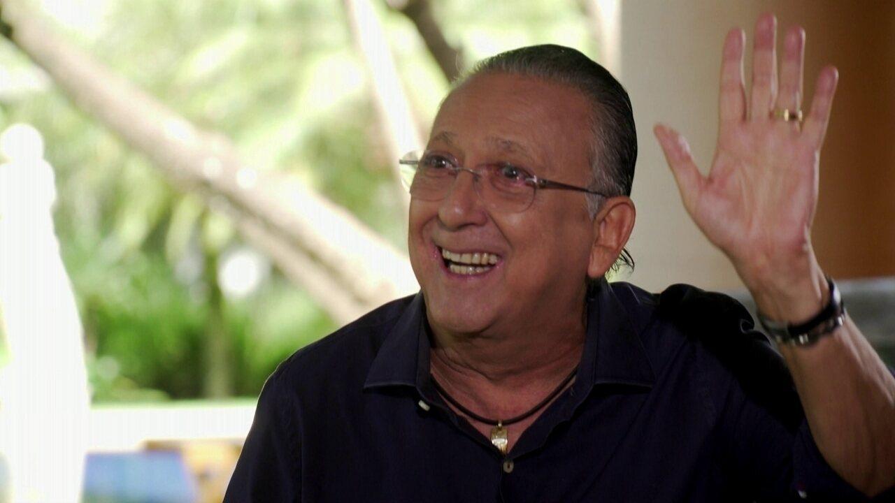 Galvão Bueno dá 1ª entrevista na volta ao Brasil