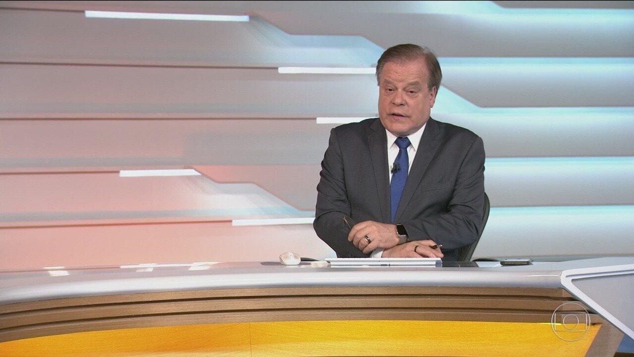 Bom dia Brasil - Edição de segunda-feira, 02/12/2019 - O telejornal, com apresentação de Chico Pinheiro e Ana Paula Araújo, exibe as primeiras notícias do dia no Brasil e no mundo e repercute os fatos mais relevantes.