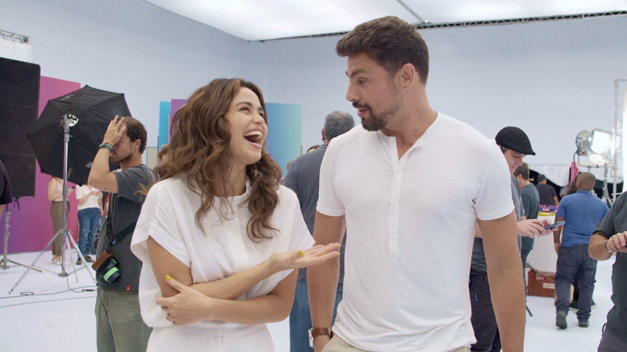 Mensagem de fim de ano da Globo: elenco mostra os bastidores