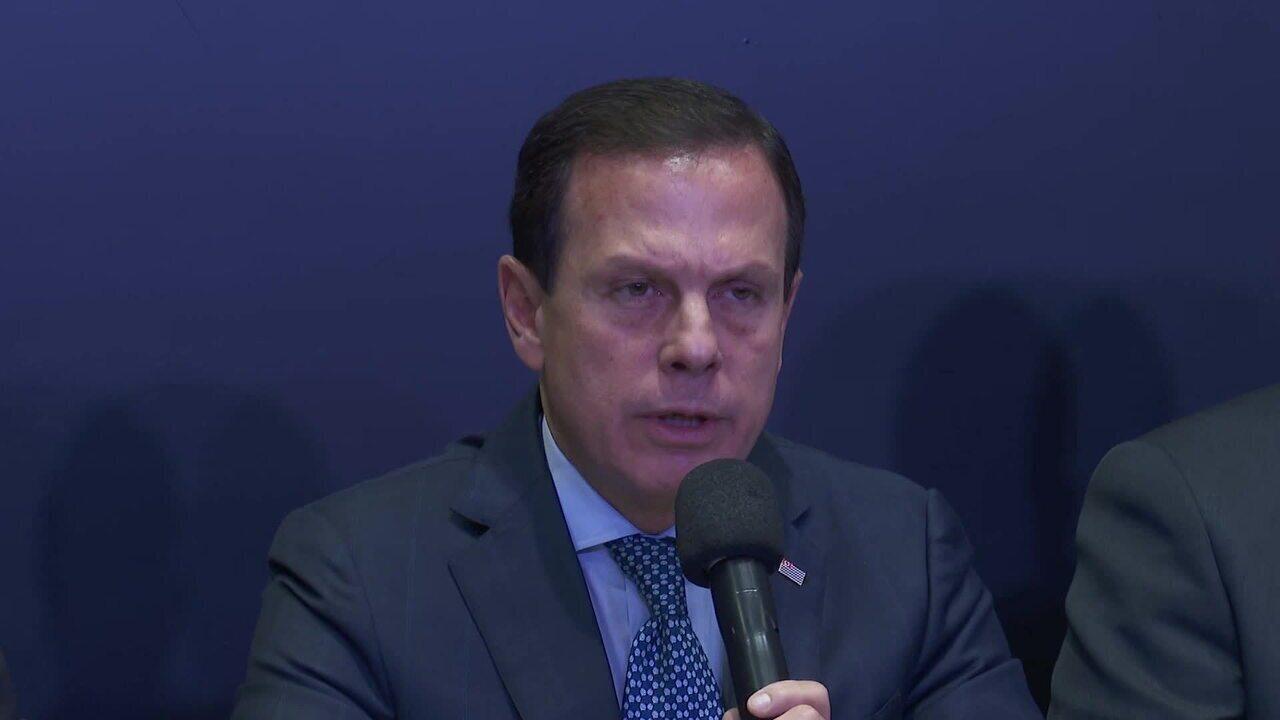 Doria diz que política de segurança não vai mudar após mortes em Paraisópolis