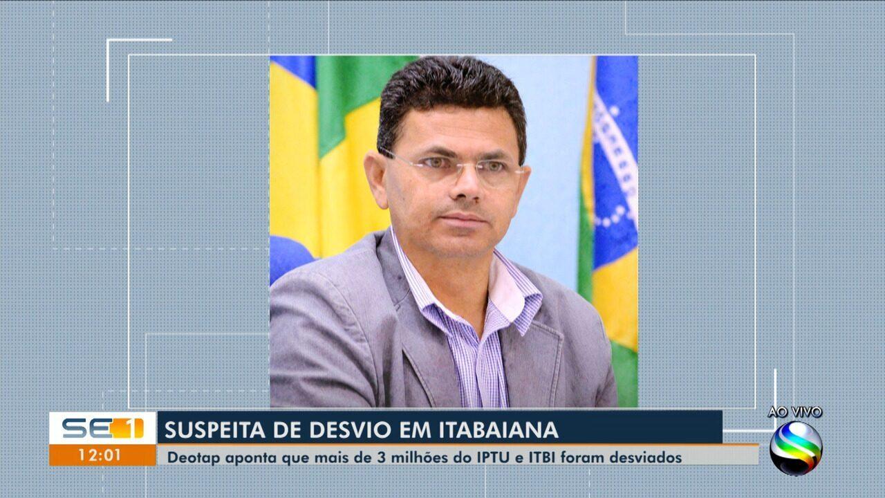 Defesa do prefeito de Itabaiana fala sobre suspeita de desvio de dinheiro