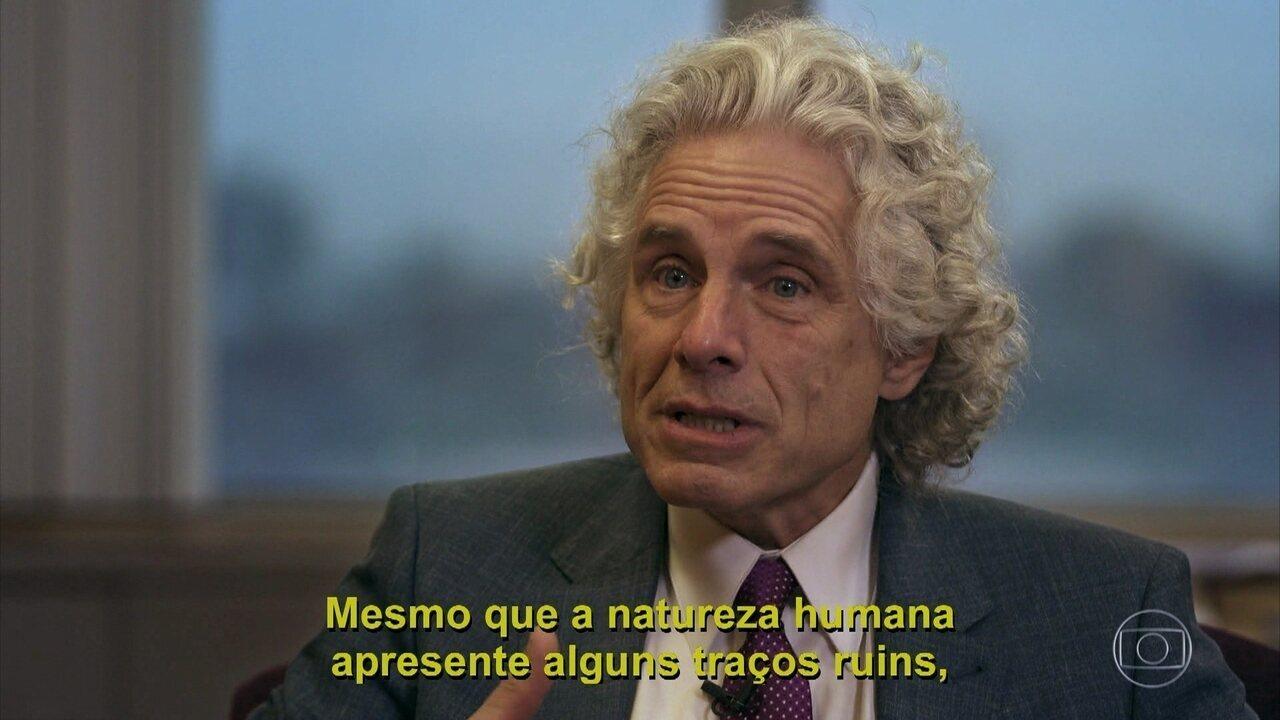 Steven Pinkers fala sobre a natureza humana