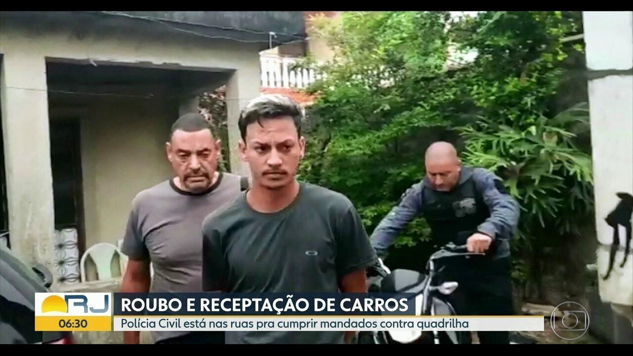 Polícia Civil deflagra operação contra receptadores de carro de motoristas de aplicativos