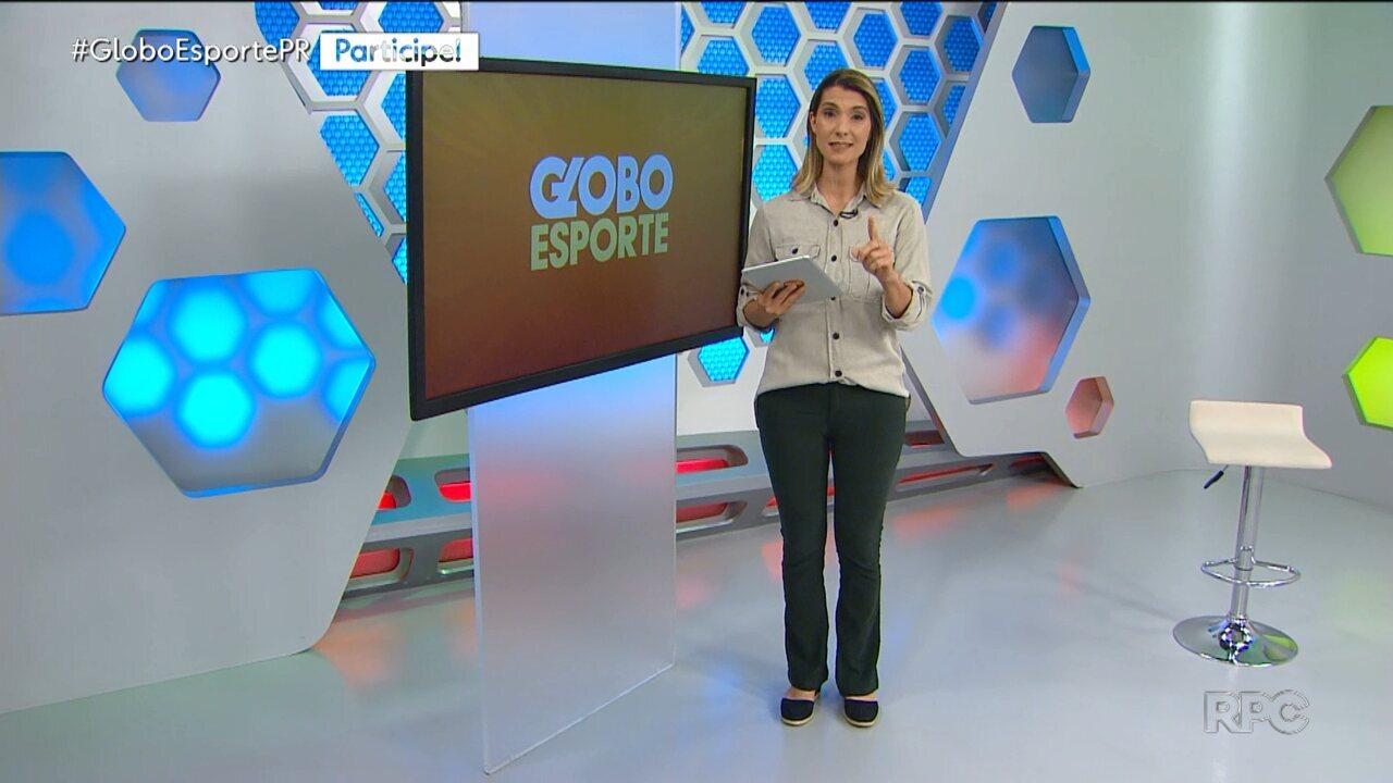 Confira a íntegra da edição do Globo Esporte-PR desta terça-feira, 3/12 - Confira a íntegra da edição do Globo Esporte-PR desta terça-feira, 3/12
