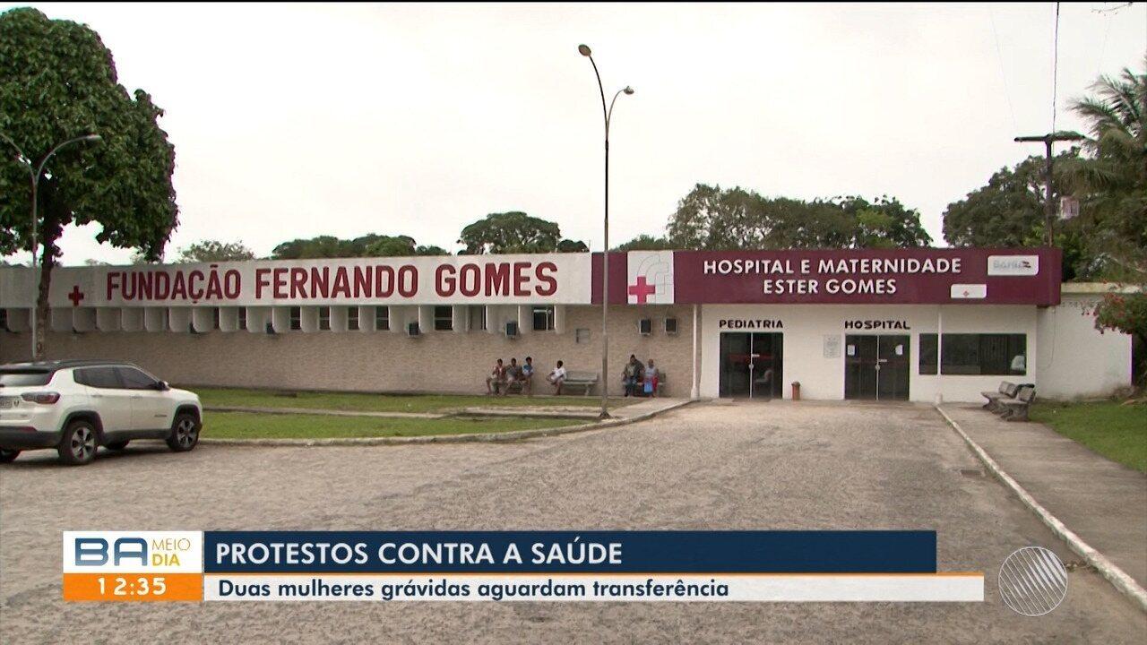 Duas mulheres grávidas internadas em Itabuna precisam de transferência