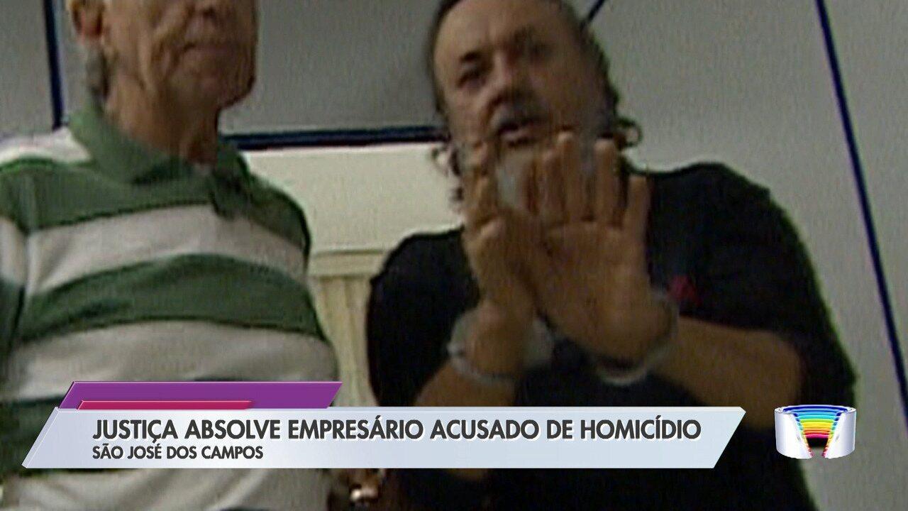 Justiça absolve empresário acusado de assassinato de dono de mercadinho em São José
