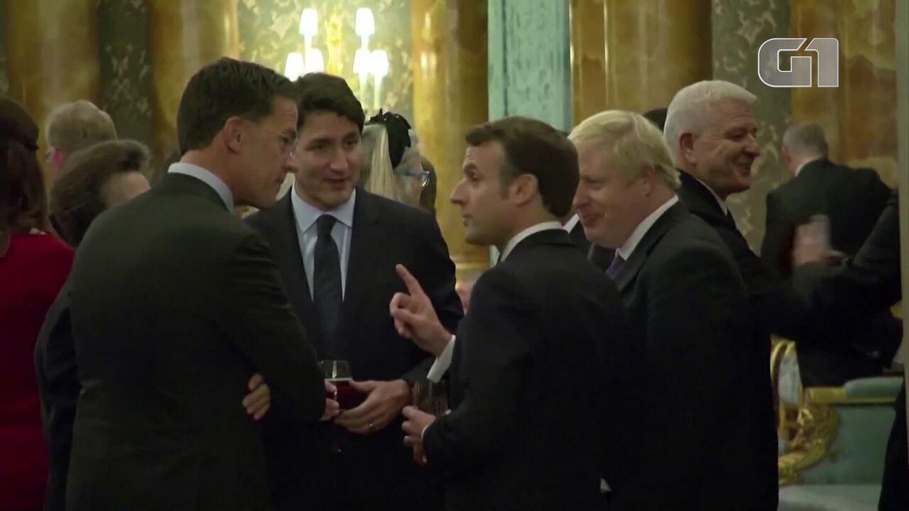 Líderes na Otan são filmados aparentemente rindo de Donald Trump