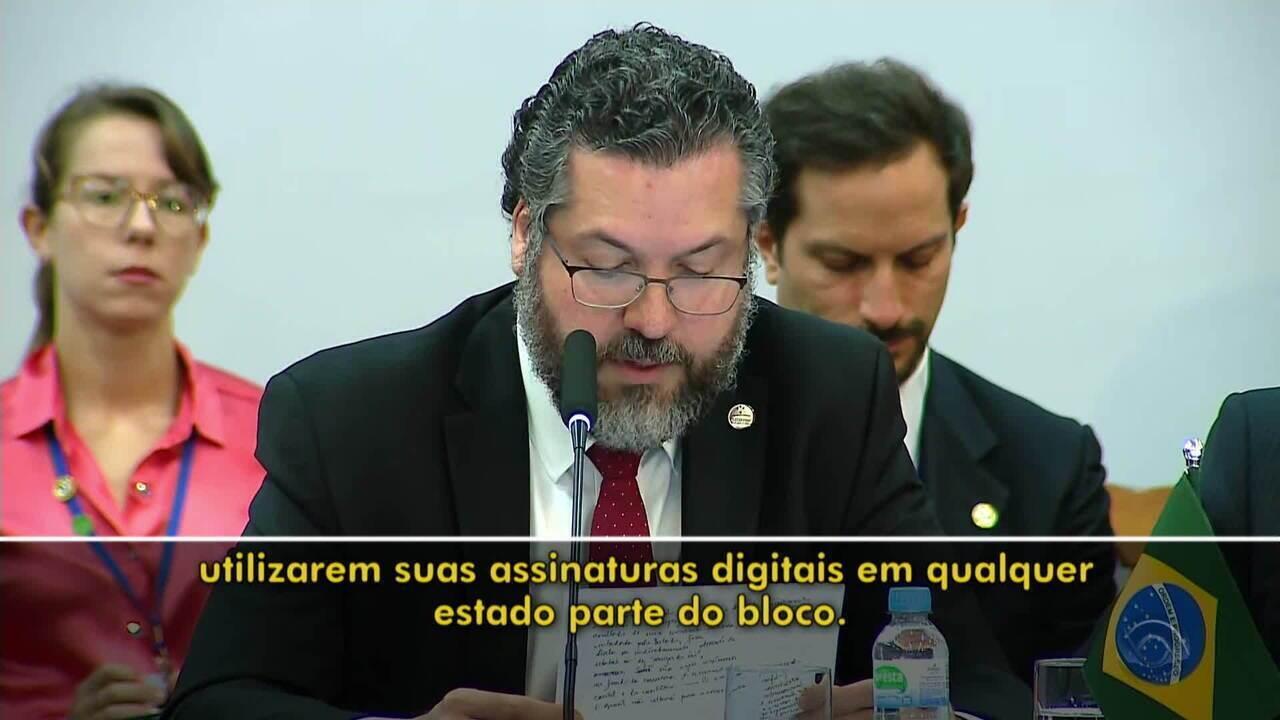 Primeiro encontro da cúpula do Mercosul acontece nesta quarta-feira e reúne chanceleres