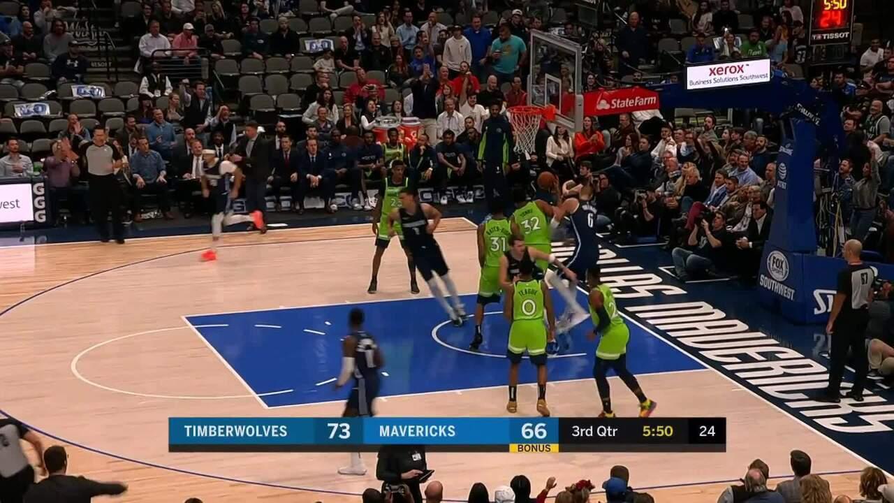 Melhores momentos: Dallas Mavericks 121 x 114 Minnesota Timberwolves pela NBA