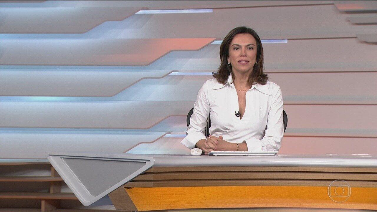 Bom dia Brasil - Edição de quinta-feira, 05/12/2019 - O telejornal, com apresentação de Chico Pinheiro e Ana Paula Araújo, exibe as primeiras notícias do dia no Brasil e no mundo e repercute os fatos mais relevantes.