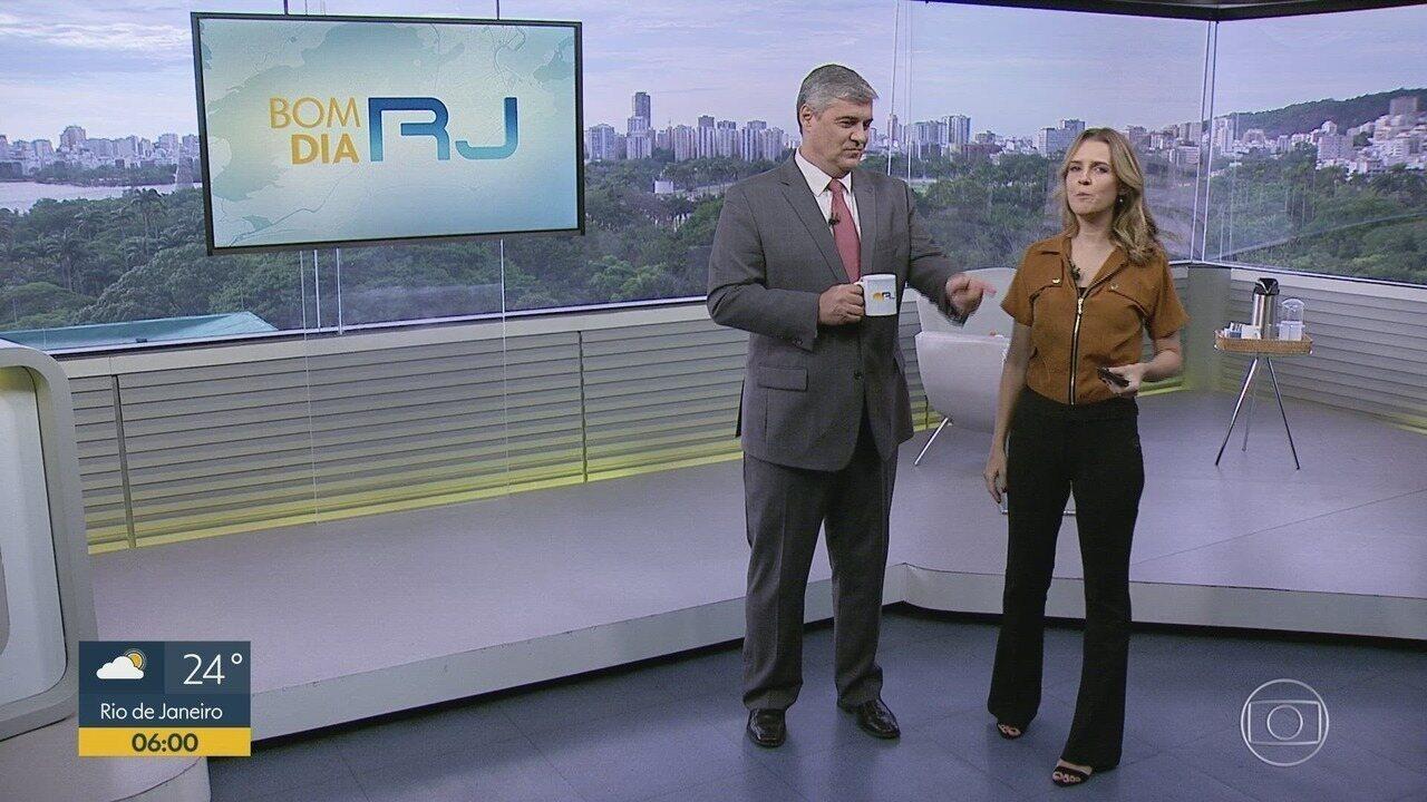 Bom dia Rio - Edição de quinta-feira, 05/12/2019 - As primeiras notícias do Rio de Janeiro, apresentadas por Flávio Fachel, com prestação de serviço, boletins de trânsito e previsão do tempo.
