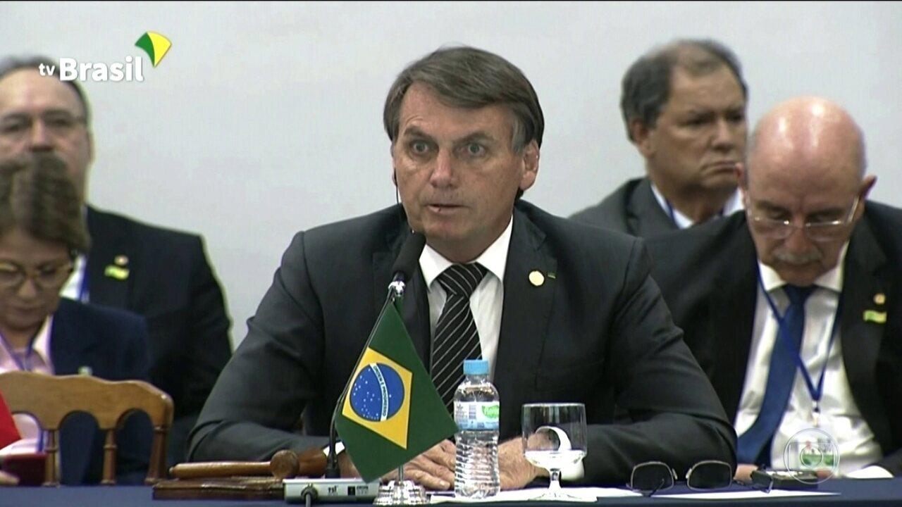 Bolsonaro pede rapidez na implantação de acordos na cúpula do Mercosul