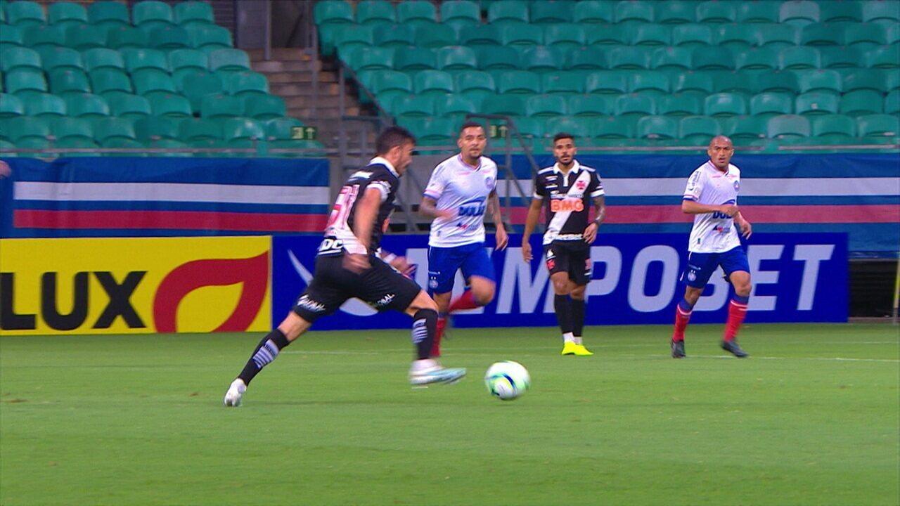 Melhores momentos: Bahia 1 x 1 Vasco pela 37ª rodada do Brasileirão 2019