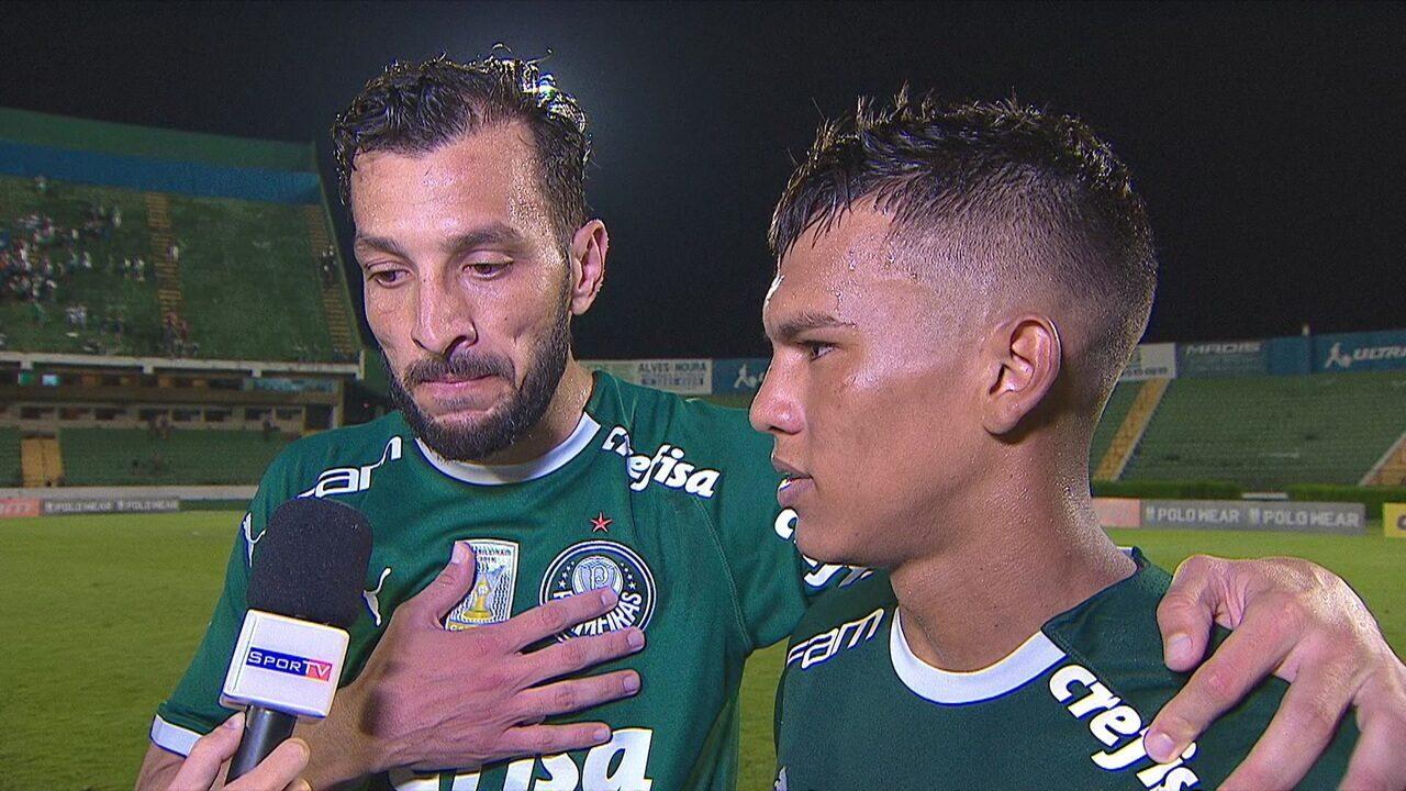 """Gabriel comemora primeiro gol no profissional e Dracena elogia: """"Fico muito orgulhoso"""""""