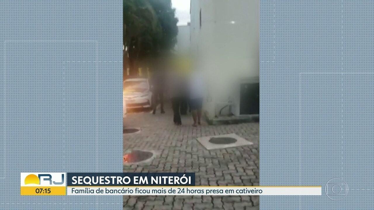 Bandido preso comanda sequestro de família de bancário em Niterói