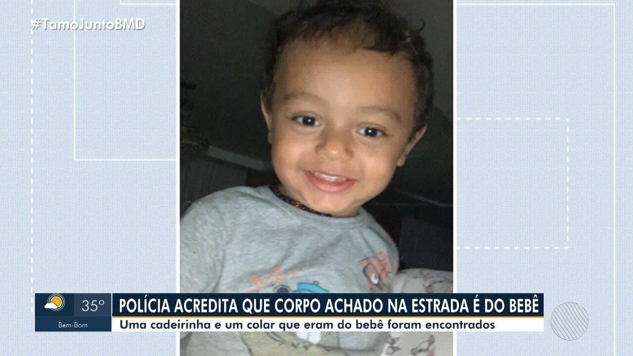 Polícia investiga se corpo de bebê encontrado em rodovia é de menino morto pelo pai