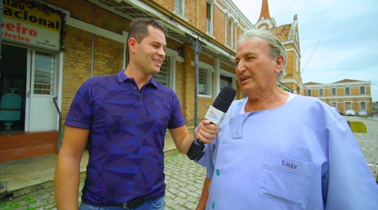 Pedro Leonardo visita pontos turísticos de Campinas (SP)!
