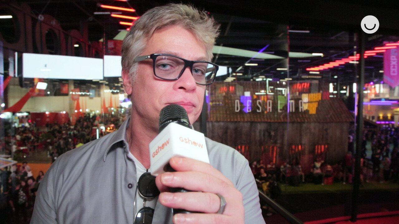 'Gshow na CCXP': Fabio Assunção fala sobre a minissérie 'Onde Está Meu Coração'