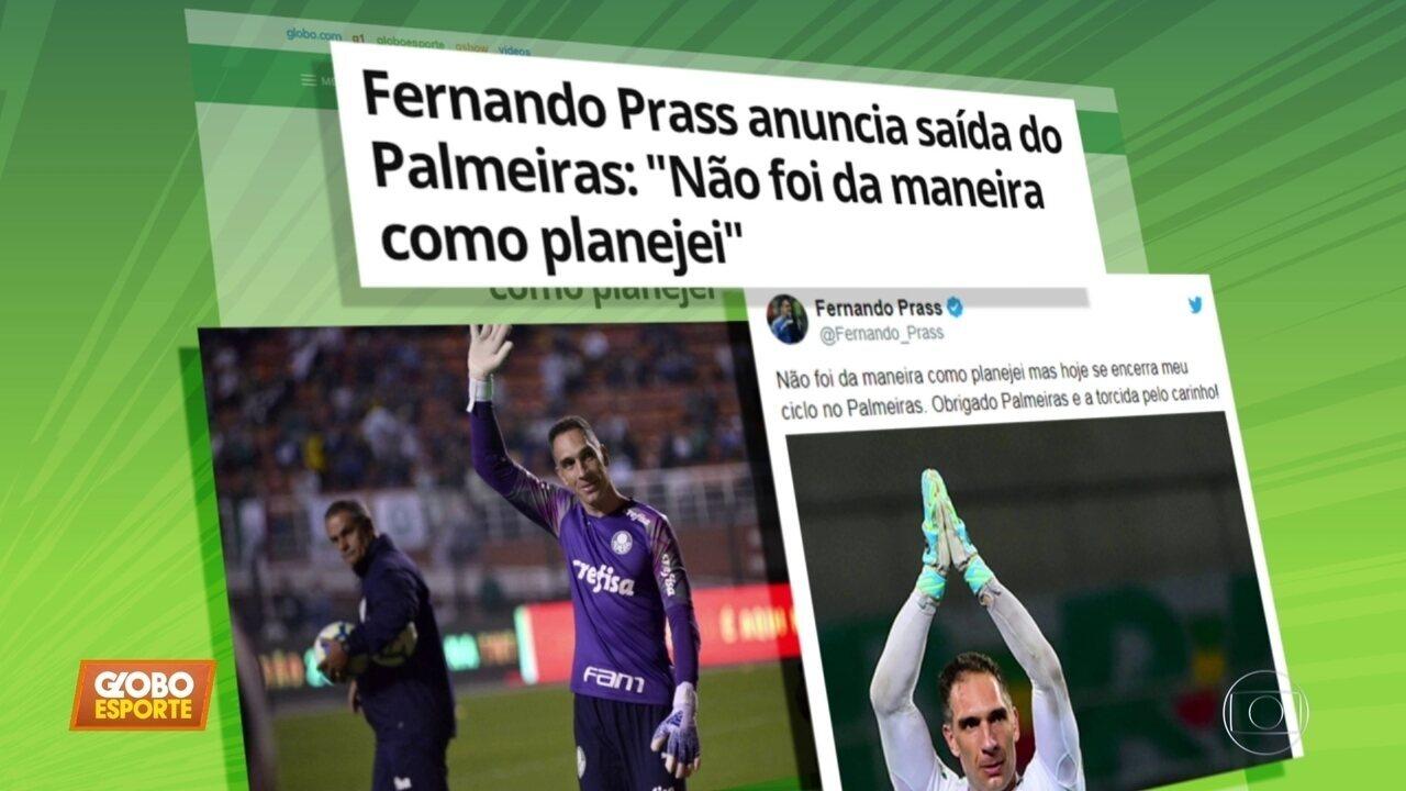 Fernando Prass Anuncia Fim De Sua Passagem Pelo Palmeiras