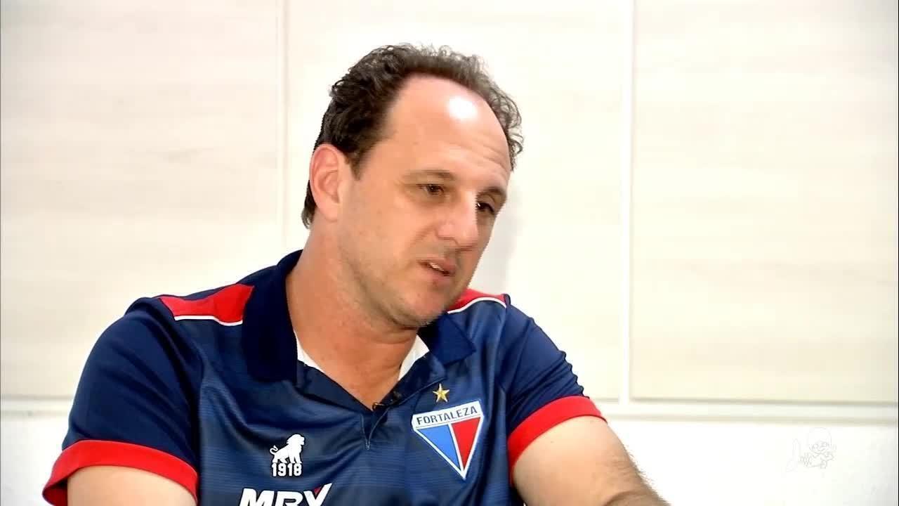 Técnico do Fortaleza, Rogério Ceni fala sobre período no Tricolor e campanha na Série A