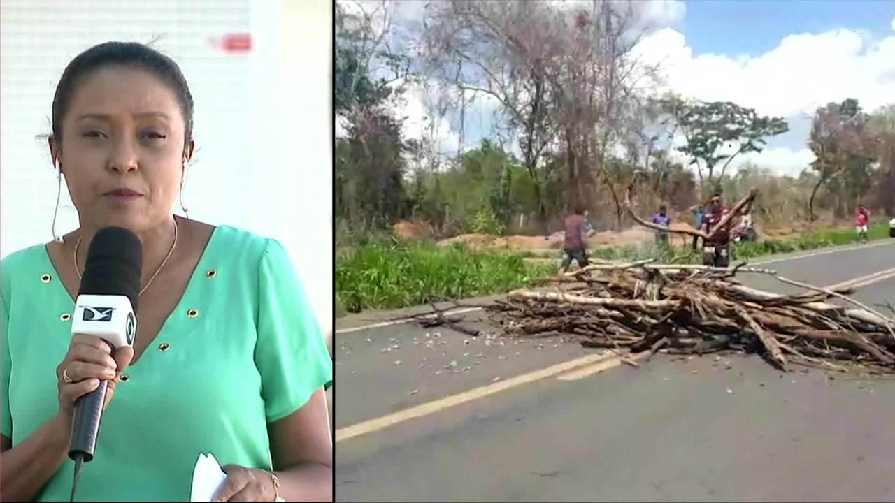 Rodovia BR-226 segue interditada por causa de protesto pela morte de índios no Maranhão