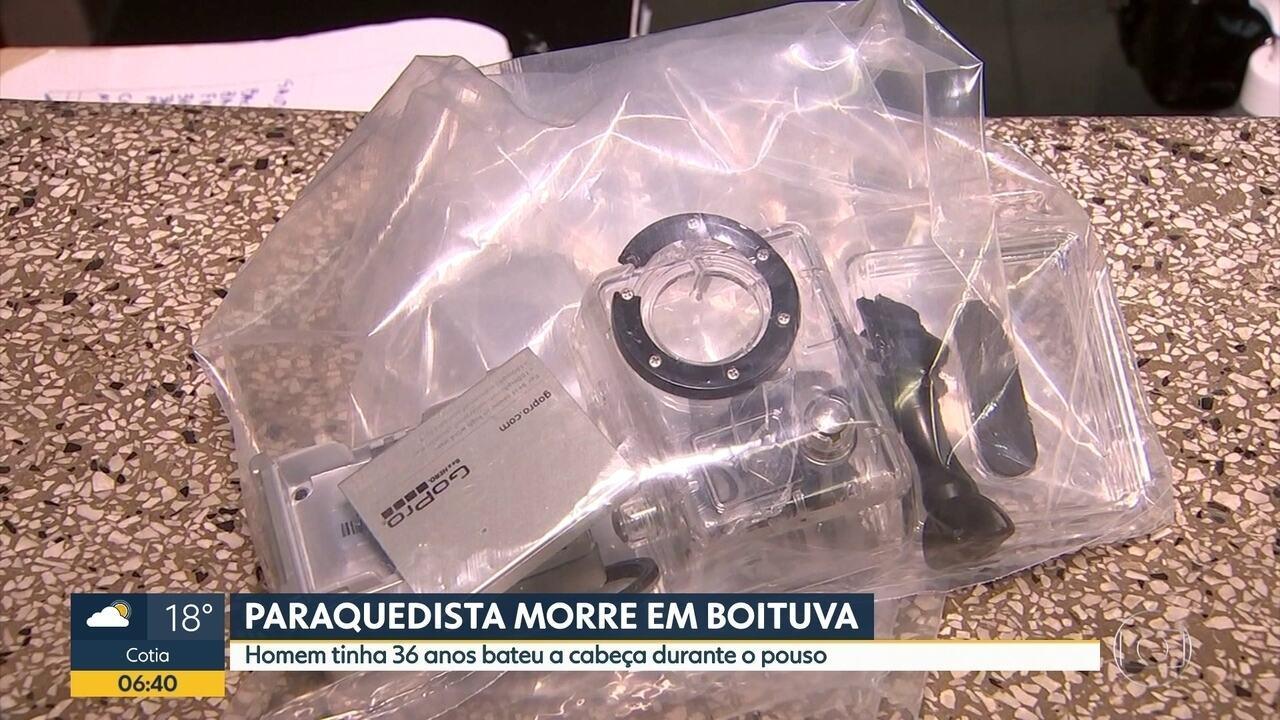 Paraquedista morre em Boituva