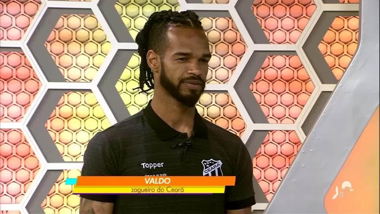 Valdo participa ao vivo do Globo Esporte