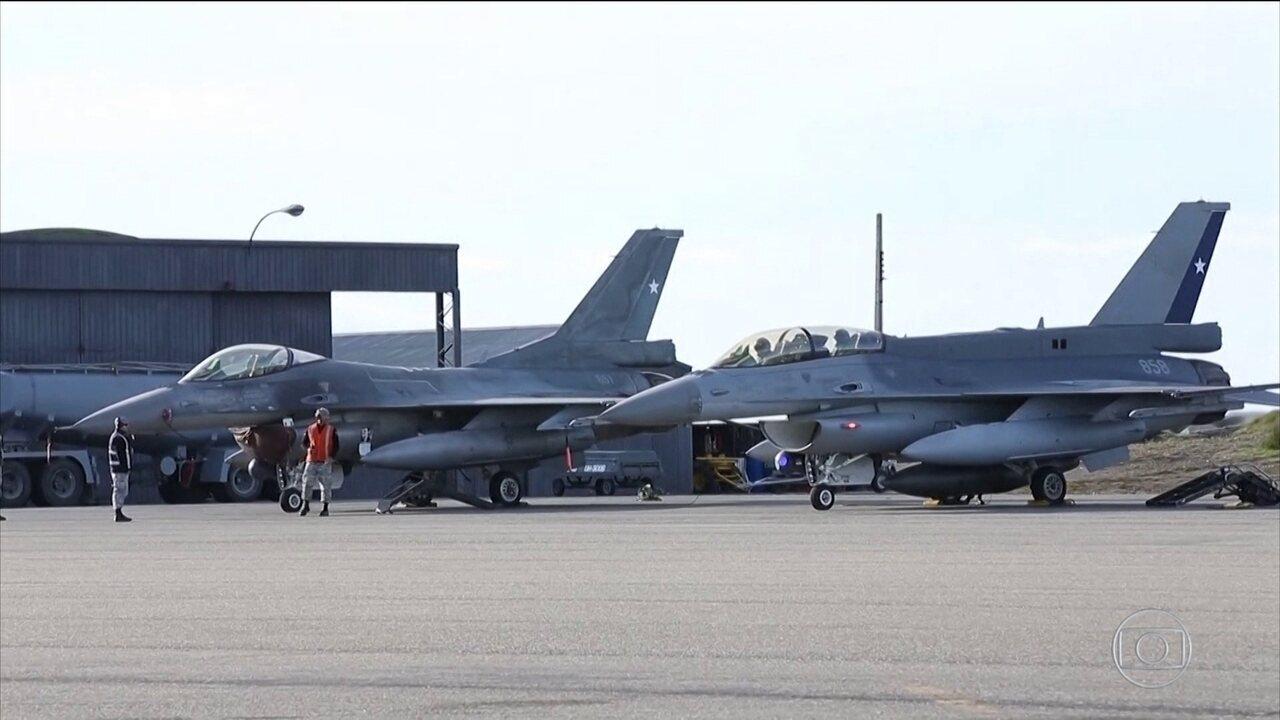Chile abre investigação sobre desaparecimento de avião militar a caminho da Antártica