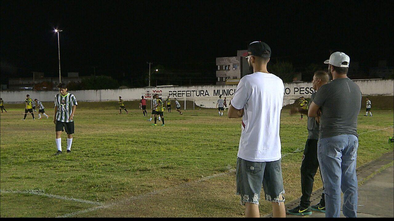 Veja como foi o amistoso entre o sub-20 do Botafogo-PB e o sub-21 da Copa de Bairros