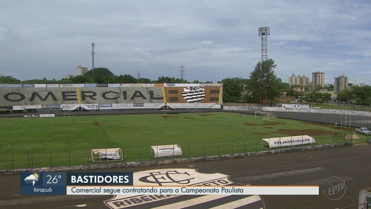 Comercial-SP anuncia contratações para o Campeonato Paulista 2020