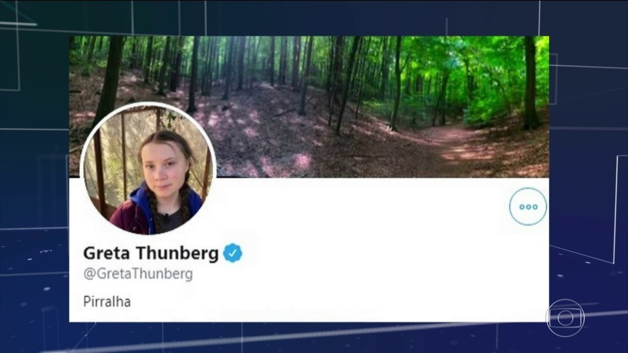 Ativista Greta Thumberg volta a dar resposta irônica, desta vez a Trump
