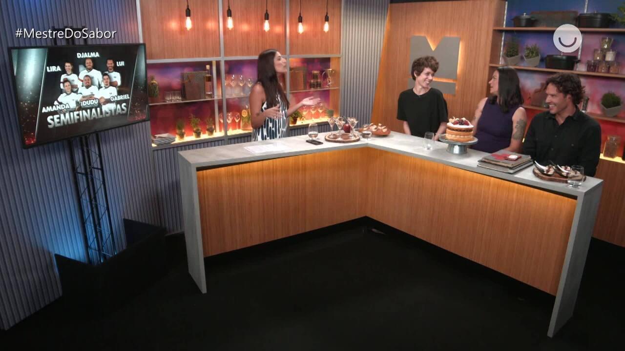 'Fora da Cozinha' Carol, Janete e Nando fazem apostas para vencedor do Mestre do Sabor