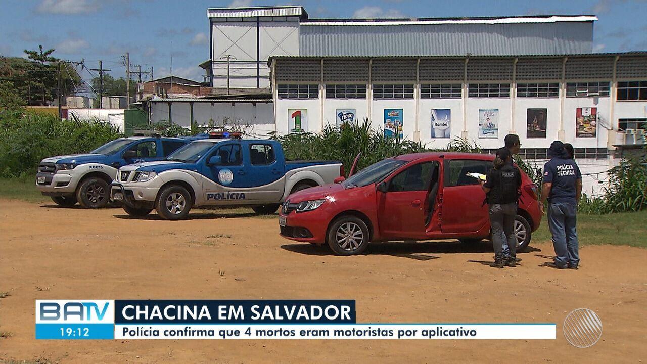 Polícia divulga identidade de quatro homens mortos em chacina no Jardim Santo Inácio